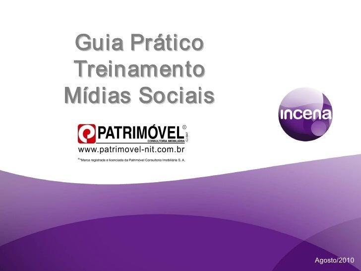 Guia Prático Treinamento Mídias Sociais.