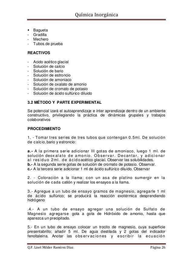 Guia quimica inorganica pr ctica - Inmobiliaria serie 5 ...