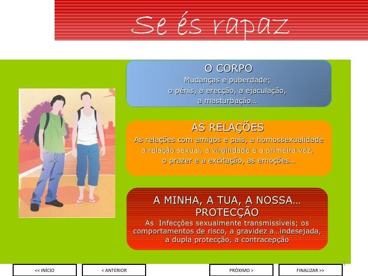 Se és rapaz A MINHA, A TUA, A NOSSA… PROTECÇÃO As  Infecções sexualmente transmissíveis; os comportamentos de risco, a gra...