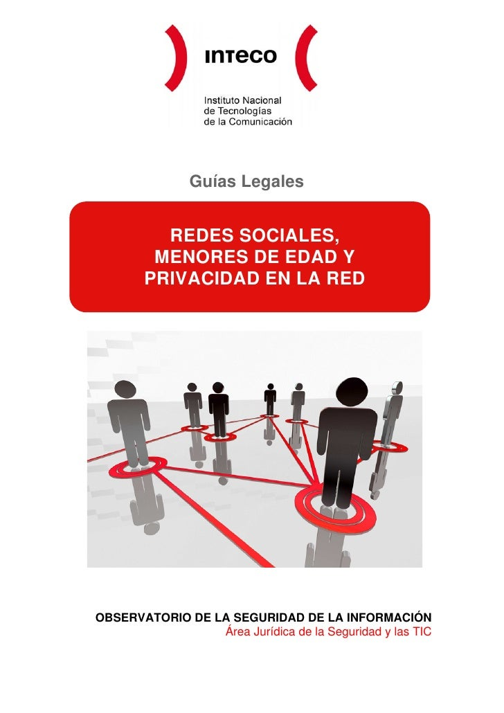 Guías Legales          REDES SOCIALES,         MENORES DE EDAD Y        PRIVACIDAD EN LA REDOBSERVATORIO DE LA SEGURIDAD D...