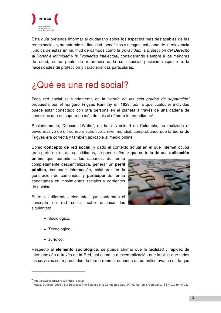 INTECO - Guía legal sobre las redes sociales, menores de edad y privacidad en la Red Slide 3