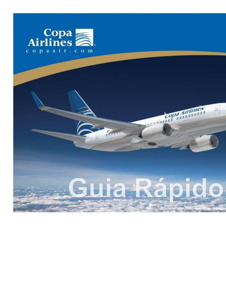 Guia Rápido - Copa Airlines