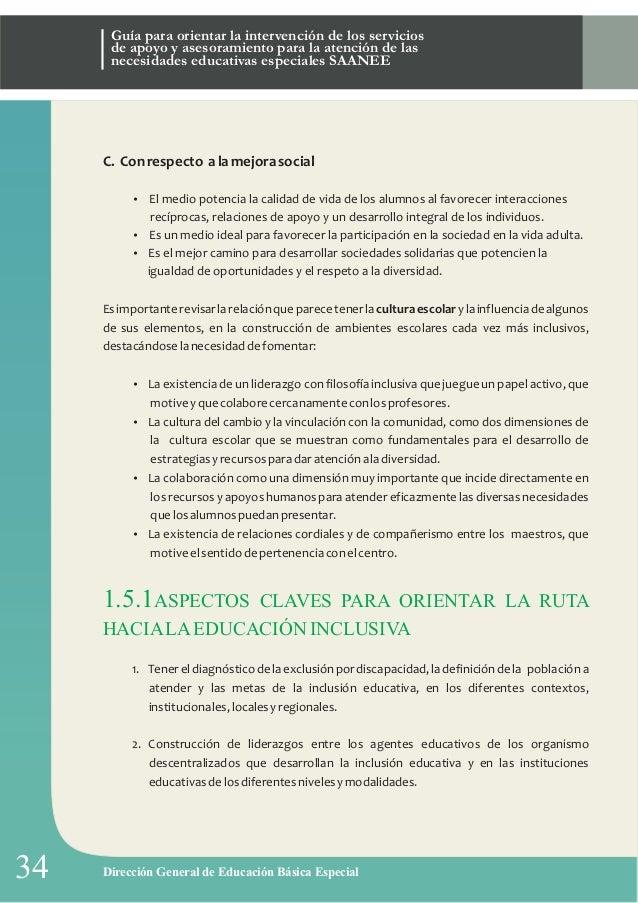 Guia del Servicios de Apoyo y Asesoramiento a las necesidades educati…