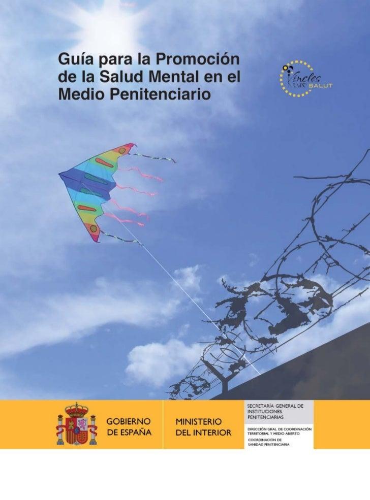 Guía para la Promociónde la Salud Mentalen el Medio Penitenciario