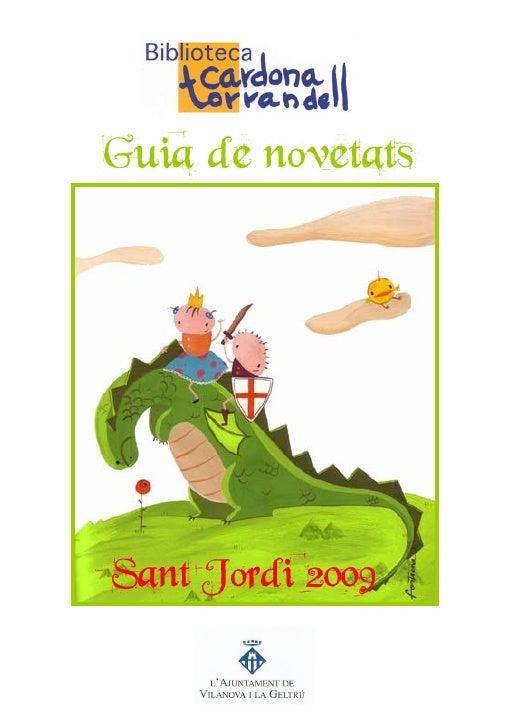 Guia de novetats     Sant Jordi 2009