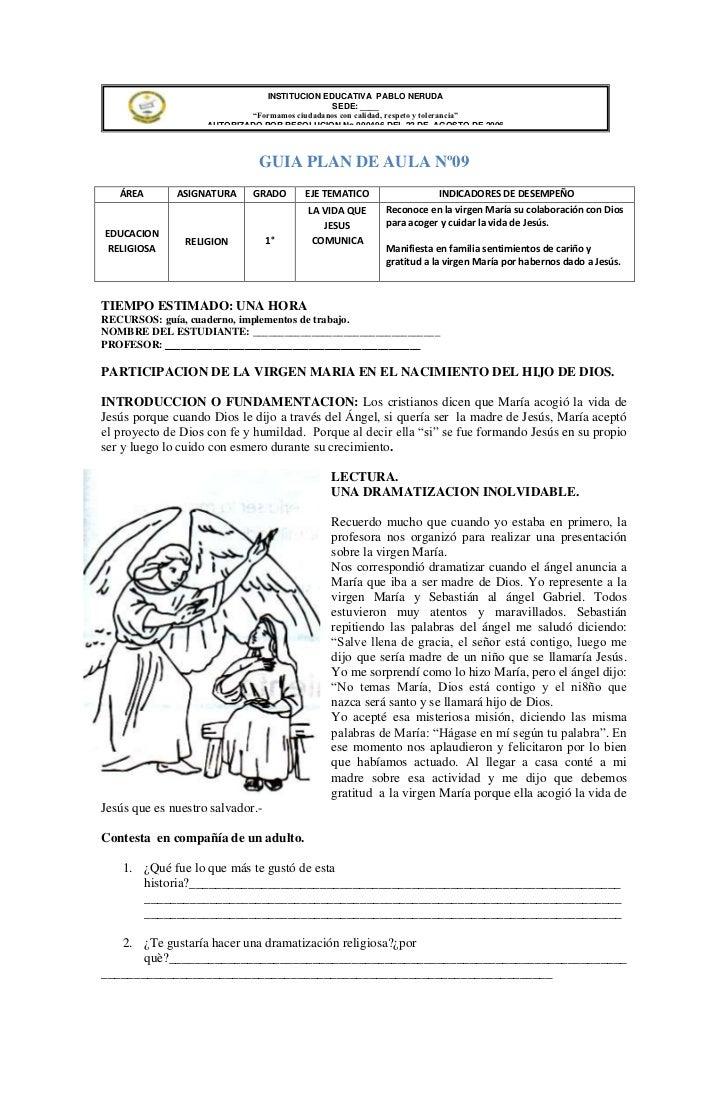 """INSTITUCION EDUCATIVA PABLO NERUDA                                               SEDE: ____                            """"Fo..."""