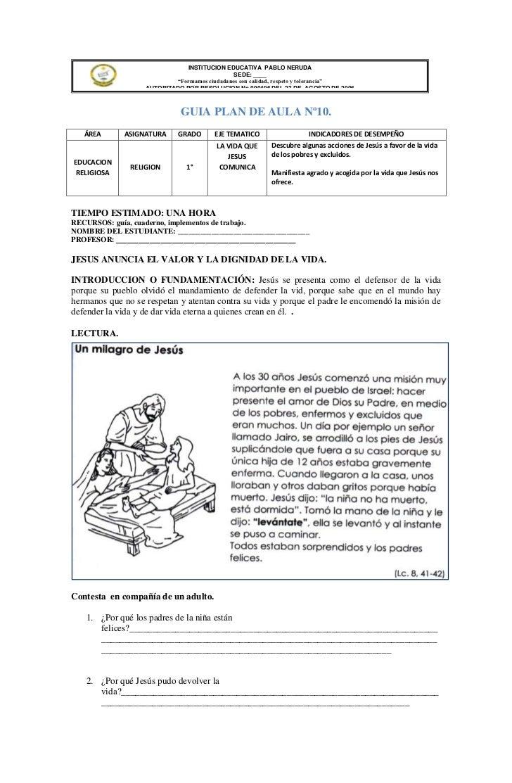 """INSTITUCION EDUCATIVA PABLO NERUDA                                              SEDE: ____                           """"Form..."""