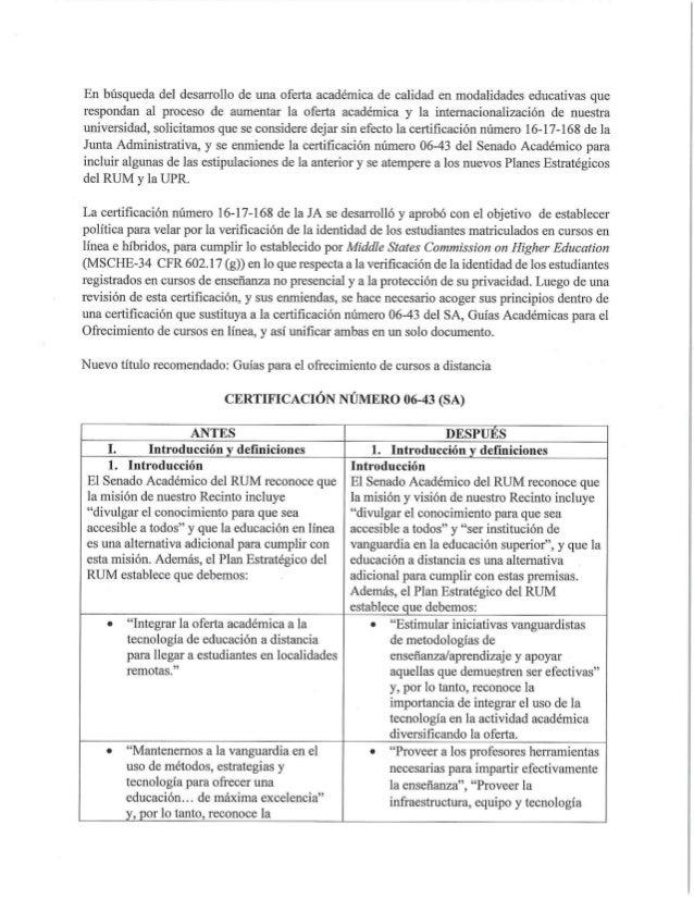 Nueva certificación que regula los ofrecimientos de cursos a distancia