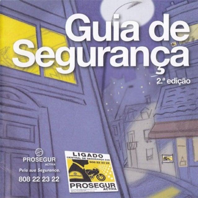 GUIA DE SEGURANÇA
