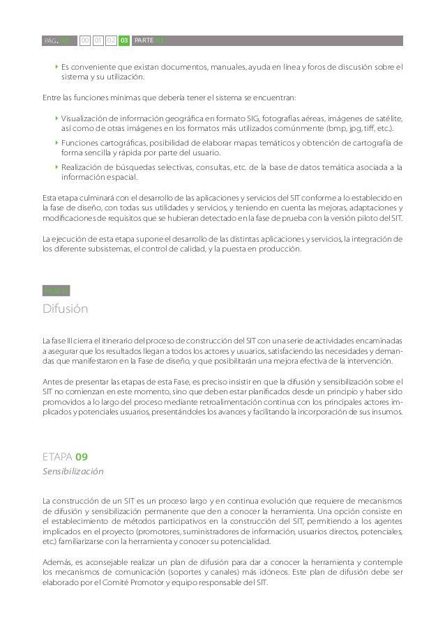 PÁG. 90    00 01 02 03 PARTE 03   `` Esconveniente que existan documentos, manuales, ayuda en línea y foros de discusión s...
