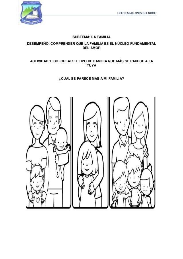 Imagenes De Familia Para Colorear Preescolar Miembros De La Familia