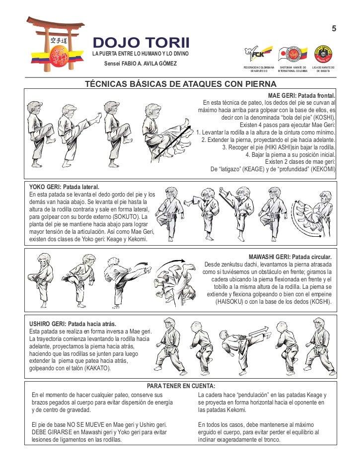 Guias karate do shotokan for Tecnicas basicas de cocina pdf