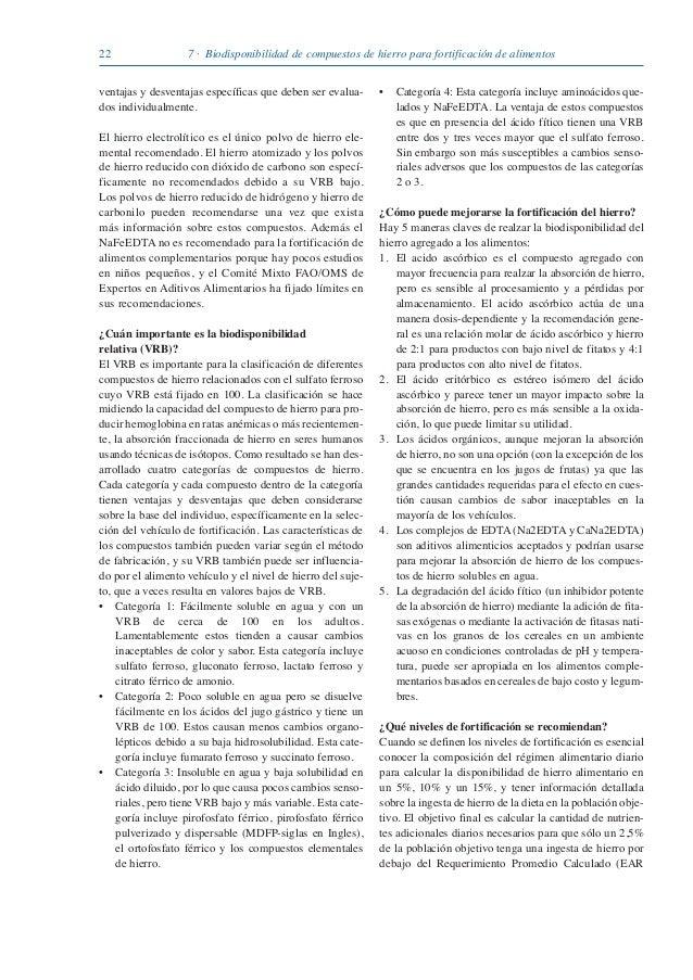 Guia sobre anemia nutricional - Anemia alimentos recomendados ...