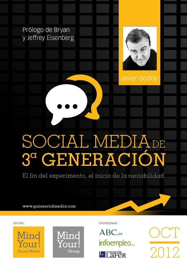 Prólogo de Bryan      y Jeffrey Eisenberg                                               Javier Godoy     SOCIAL MEDIA DE  ...