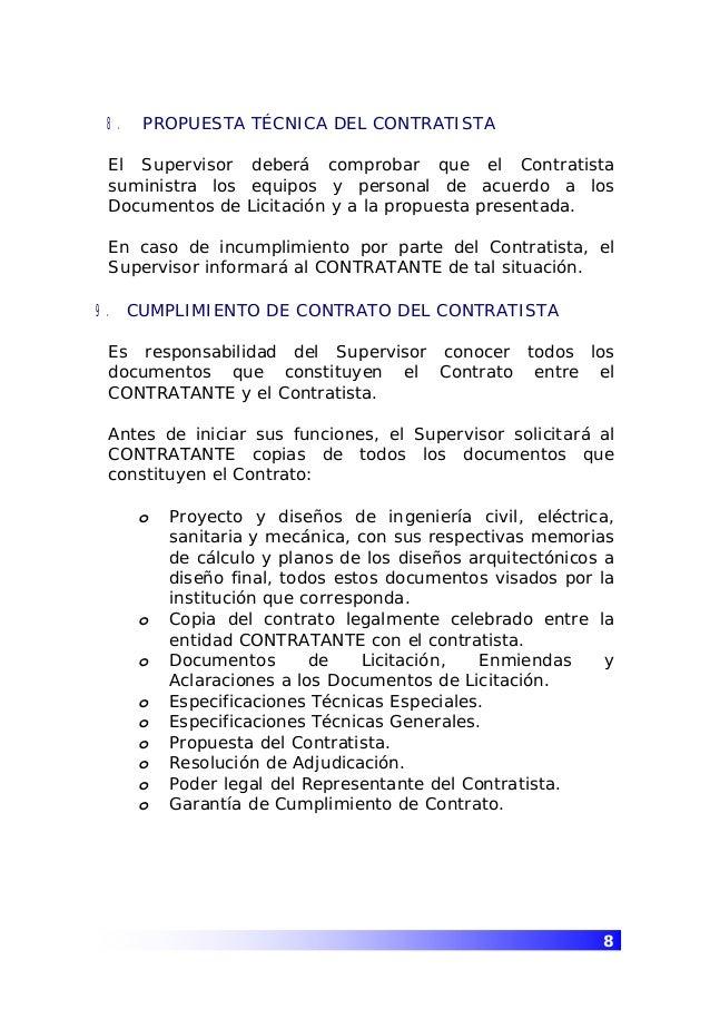 Guia supervision obras constr viviendas - Que es un contratista ...