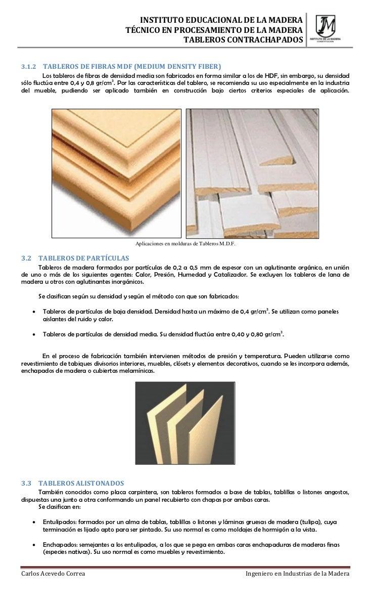 Tableros reconstituidos de madera - Tablero madera ...