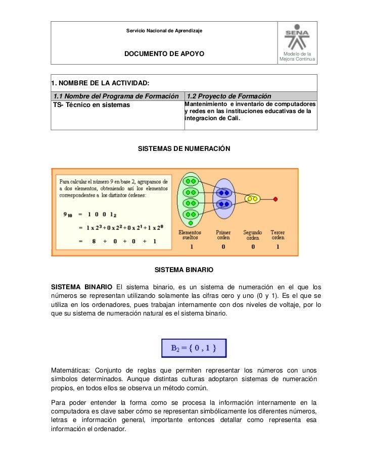 Servicio Nacional de Aprendizaje                        DOCUMENTO DE APOYO                                        Modelo d...