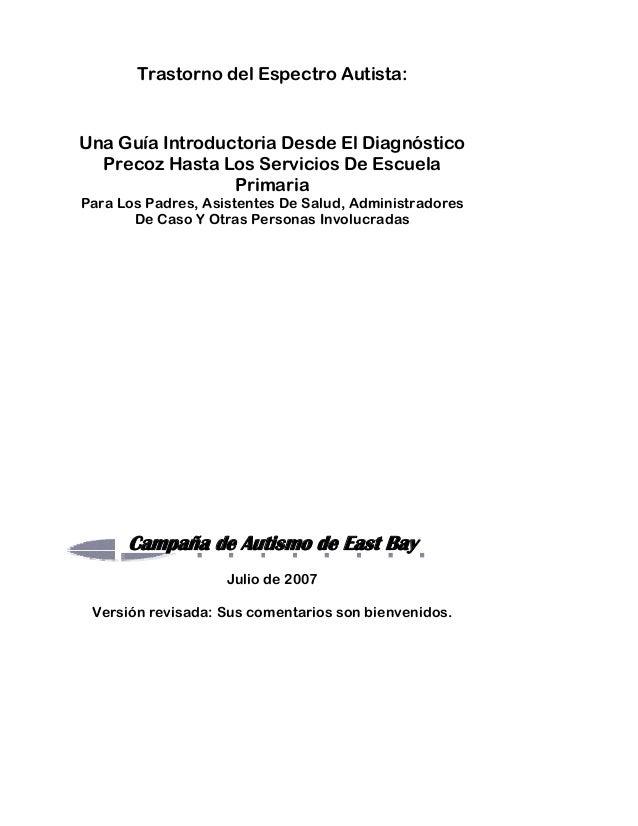 Guia tea y modelos de intervencion