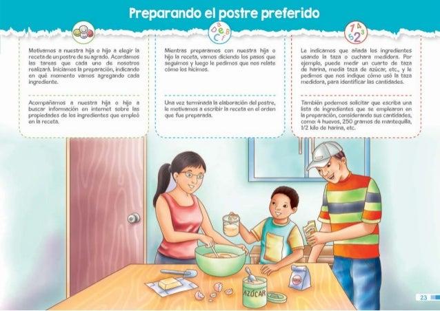 Guia para padres tercer grado for Cuarto ordenado y limpio