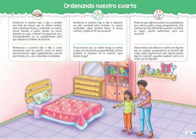Guia para padres tercer grado for Reglas de mi habitacion