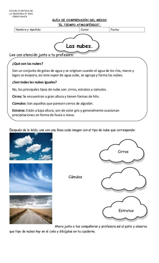 Guia tipos de nube - Tipos de estores para salon ...