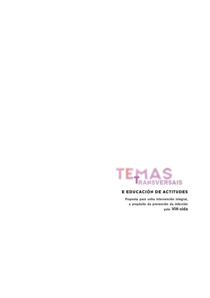 Guia de temas transversais para intervir na prevención do VIH-SIDA Slide 3