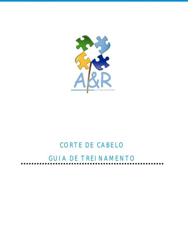 CORTE DE CABELOGUIA DE TREINAMENTO