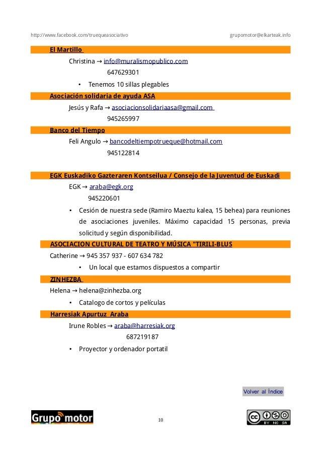 http://www.facebook.com/truequeasociativo grupomotor@elkarteak.infoEl MartilloChristina → info@muralismopublico.com6476293...