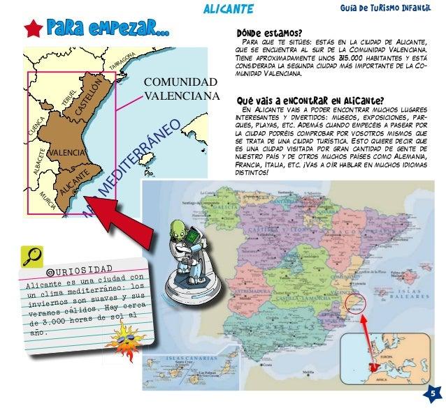 Guia turistica infantil de alicante by gentedealicante - Guia para construir ...
