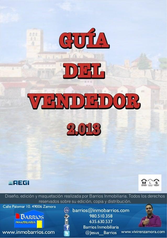 GUÍA                                 DEL              VENDEDOR                                 2.013 Diseño, edición y maq...