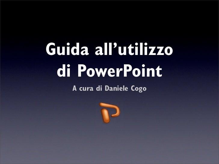 Sfondi powerpoint 2007