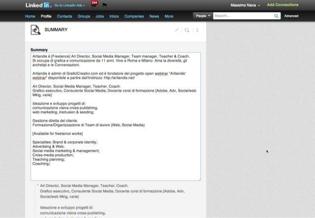 Guida a Linkedin: profilo personale e aziendale