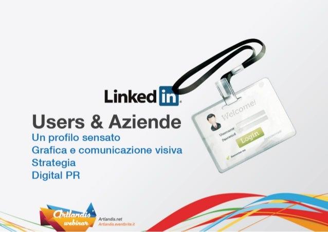 Guida a Linkedin: profilo personale e aziendale Slide 3