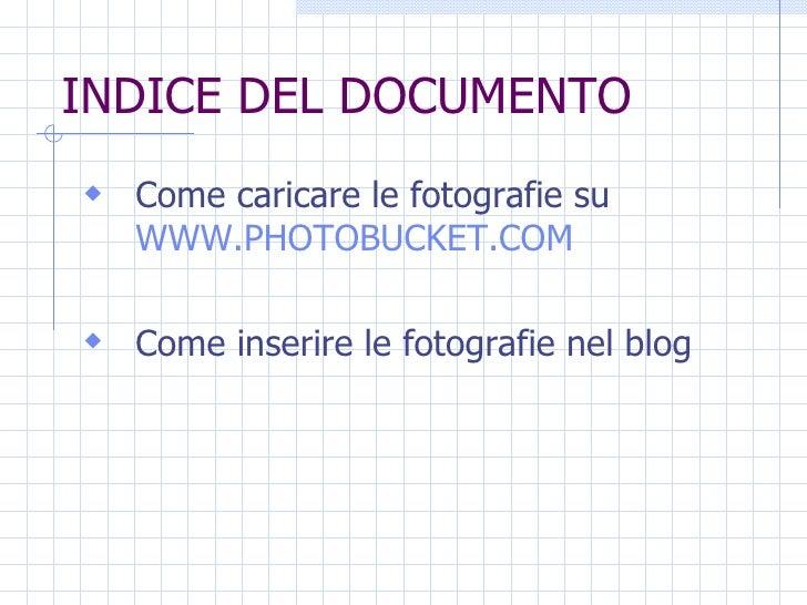 Guida per inserire fotografie su www.risorsalongevita.org Slide 2