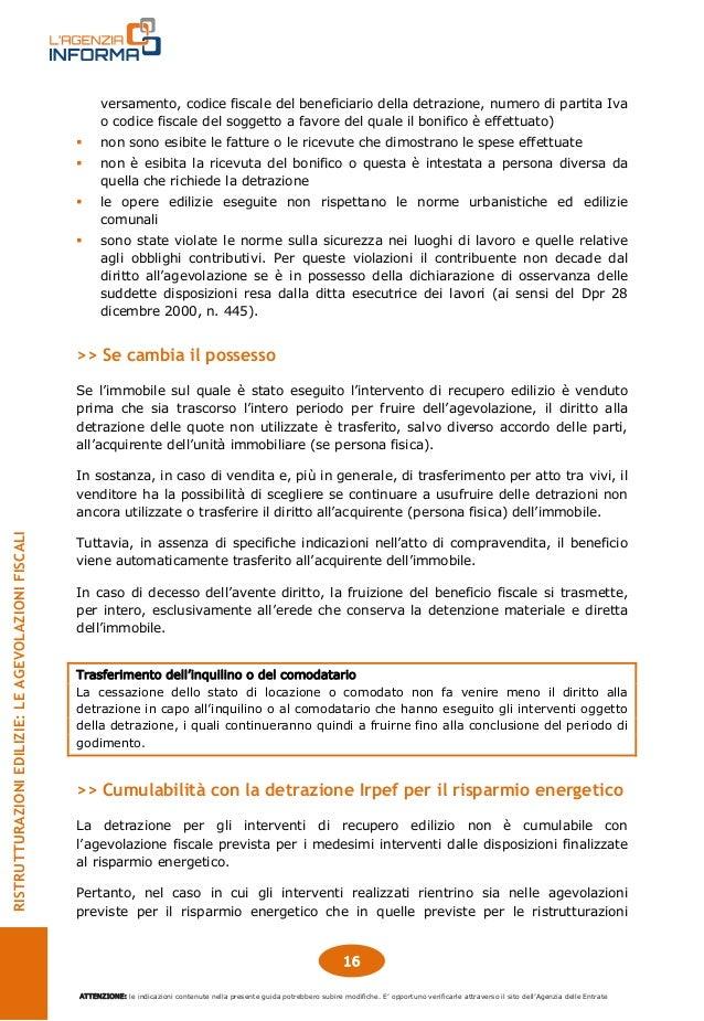 Guida agevolazioni fiscali ristrutturazioni edilizie for Detrazione fiscale condizionatori causale bonifico