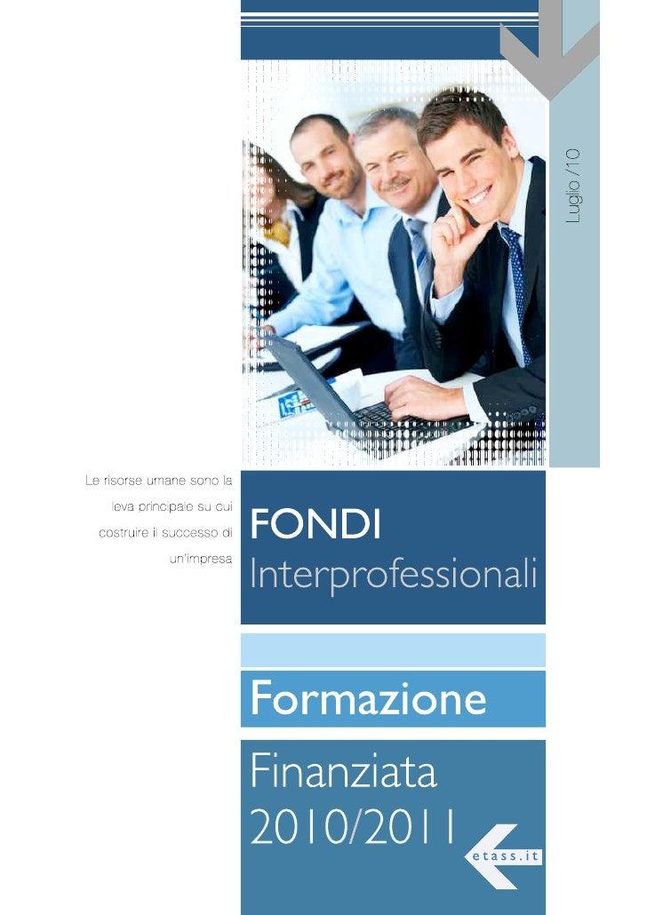 Guida ai fondi interprofessionali
