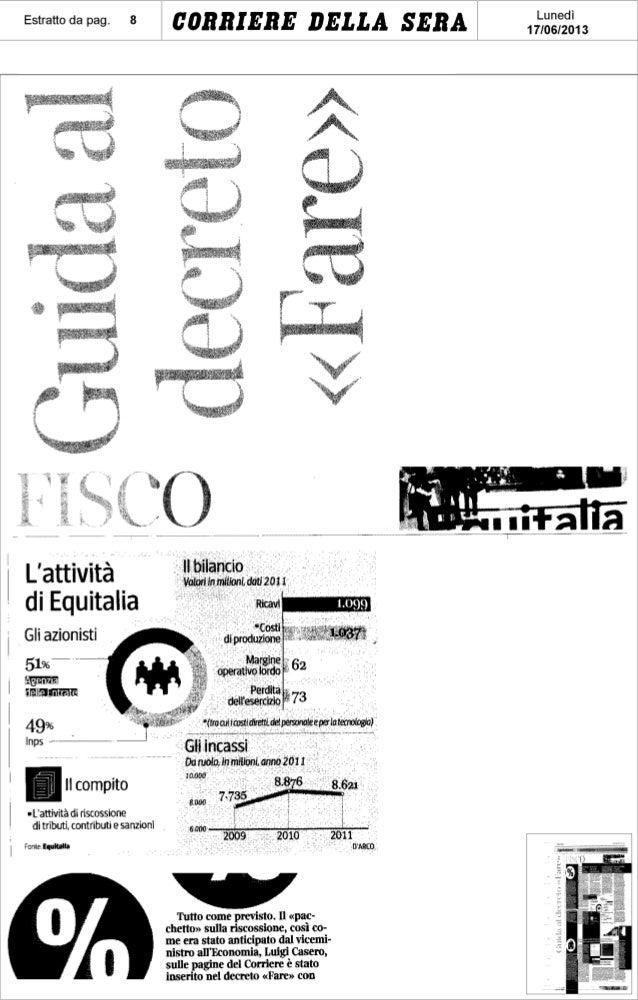 Guida al decreto Fare - CorrieredellaSera - 17.06.2013 - Antonio De Poli - UDC Veneto