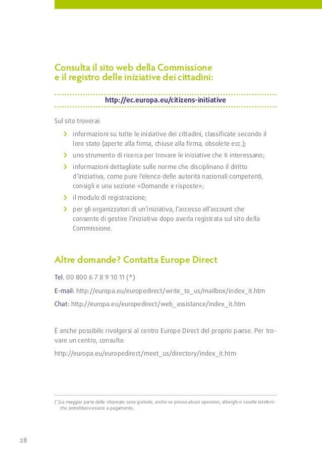NA-30-11-330-IT-C                       Un nUovo diritto per i cittadini dell'Ue                       Il tuo contrIbuto  ...