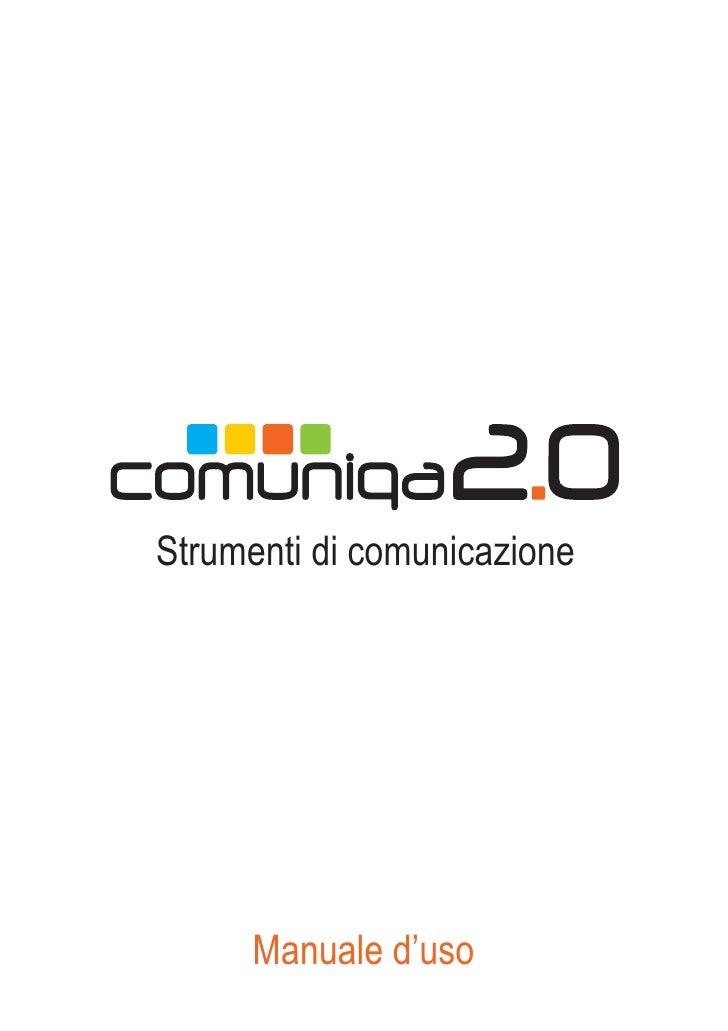 Strumenti di comunicazione          Manuale d'uso