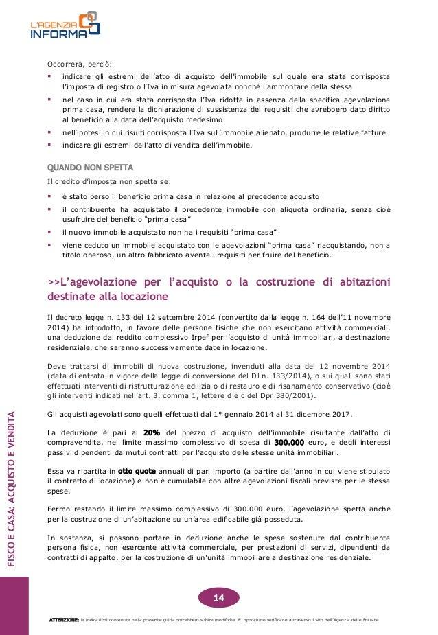Spese acquisto prima casa great affordable with bonus - Calcolo imposte acquisto seconda casa ...