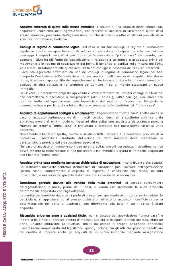 Costi acquisto prima casa gallery of good costo atto for Costo atto notarile