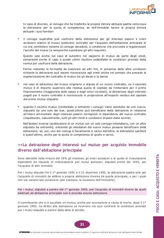 Immobiliare guida fisco e casa acquisto e vendita 201412 - Scrittura privata acquisto casa ...