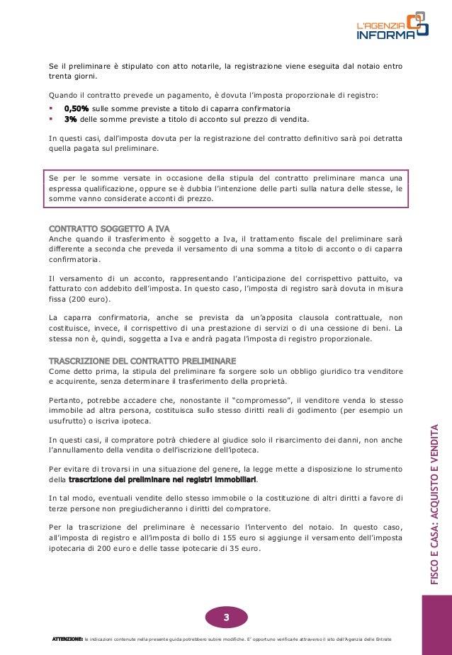Immobiliare guida fisco e casa acquisto e vendita 201412 - Costi per acquisto casa ...