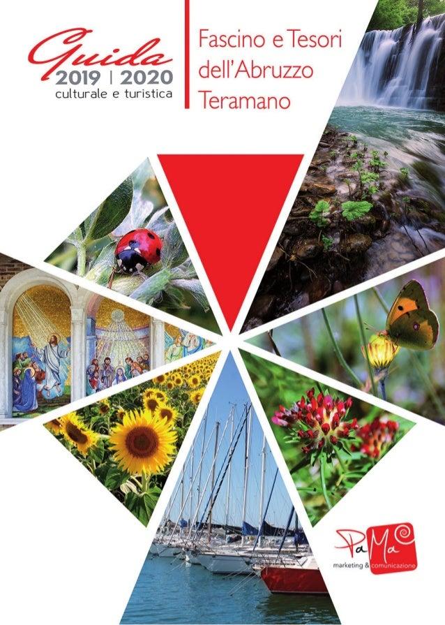 Guida CulturaleTuristica 2019/2020 Supplemento aTeramo Nostra N.1 Gennaio-Maggio 2019 - Anno 12 - Aut.Tribunale diTeramo R...