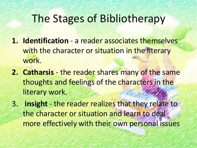 How To Use Bibliotherapy1. Identify s needs. This task is done throughobservation, parent conferences, student writingassi...