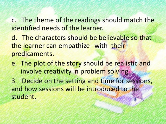 4. Design follow-up activities for the reading (e.g.,discussion, paper writing, drawing,drama).5. Motivate the learner wit...