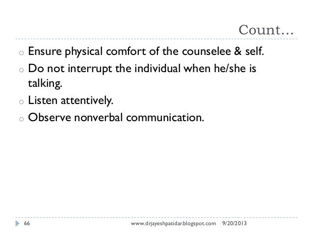 counsellor and counselee relationship trust