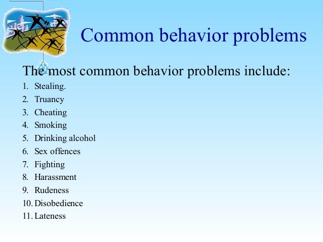 the issue of behaviour in schools Cpir is pleased to connect you with resources for helping children with disabilities with respect to behavior at school school presents a unique challenge for children with behavior issues teachers need tools to use to help provide support and guidance.