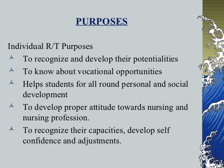 purpose of guidance