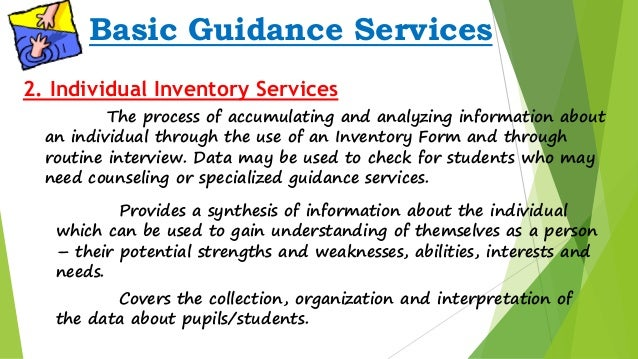 guidance  u0026 counseling  guidance services